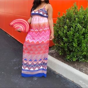 Old navy maxi dress new with tags